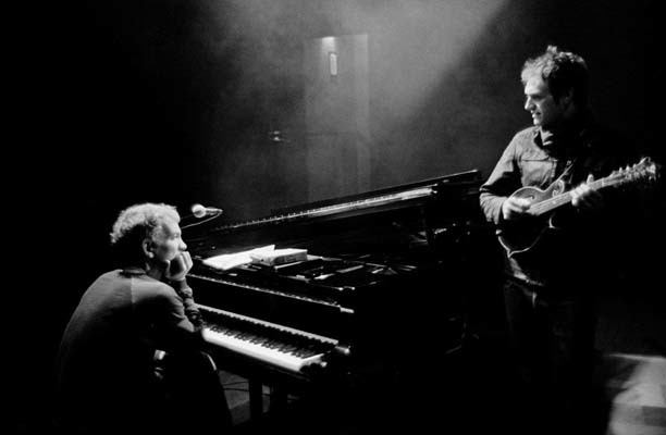 Brad Mehldau and Chris Thile (© Michael Wilson)