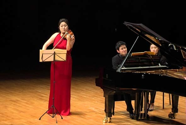 Duo Kim-Lim (ph. Ufficio stampa Chamber Music)